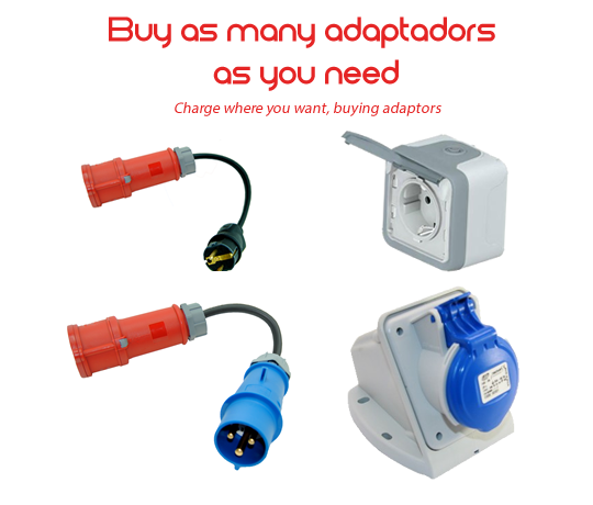 CEE adaptaters for EVSE