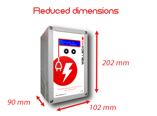 reduced dimensions EVSE